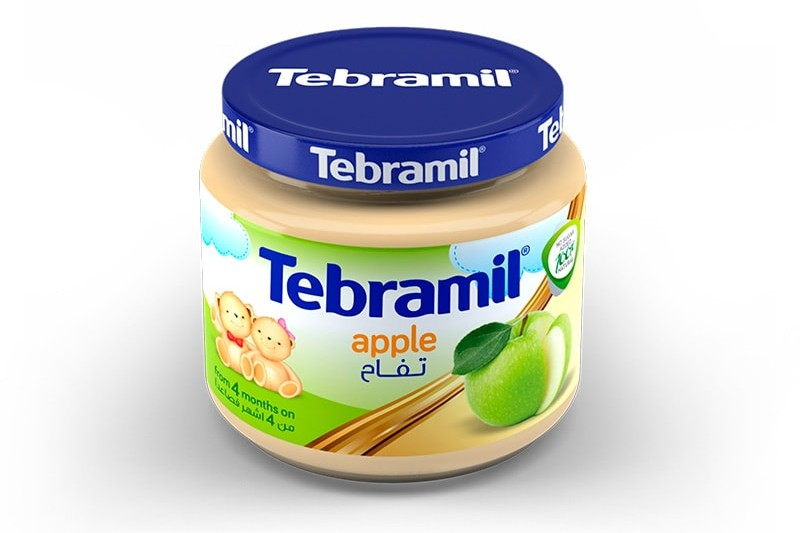 Apple Tebramil Jars by Pharmex