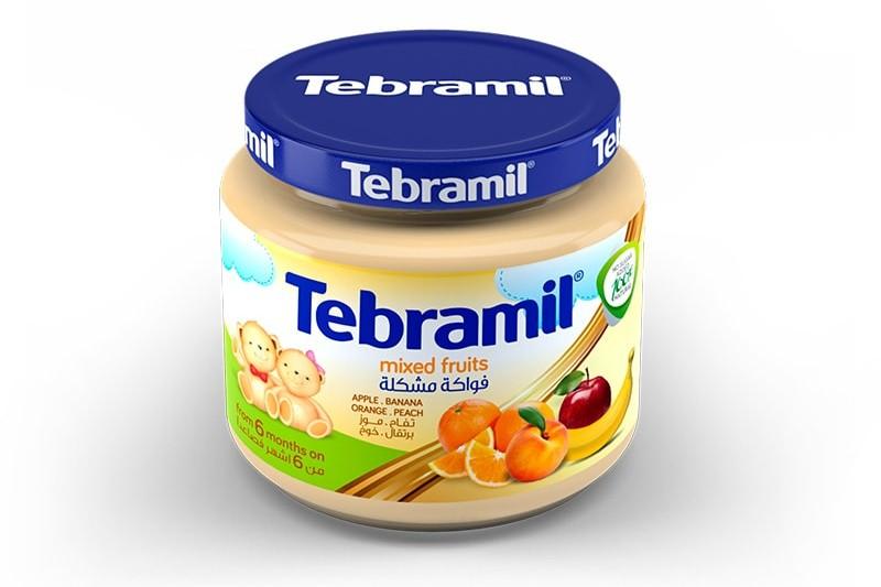 Mixed Fruits Tebramil Jars by Pharmex