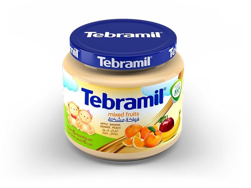 Tarrito Tebramil Frutas Variadas de Pharmex